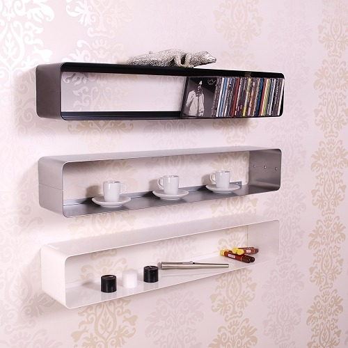 Design cd wandregal cube retro wand regal lounge rack ebay for Cd regal wand