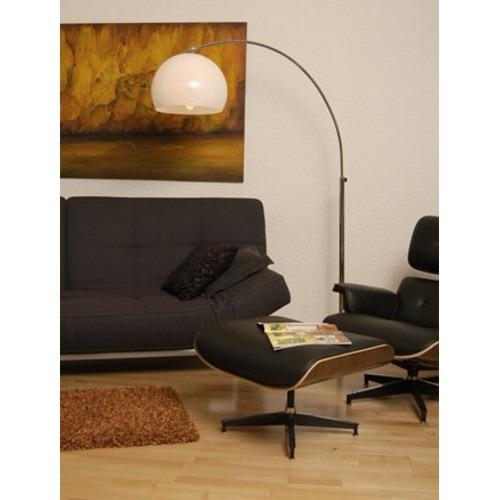 big bow retro design lampe mit marmorfu lounge stehlampe. Black Bedroom Furniture Sets. Home Design Ideas