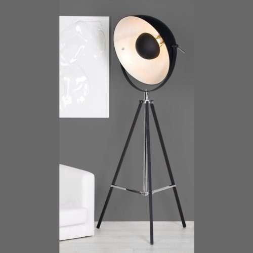 design stehlampe planet lounge lampe b ro stehleuchte ebay. Black Bedroom Furniture Sets. Home Design Ideas