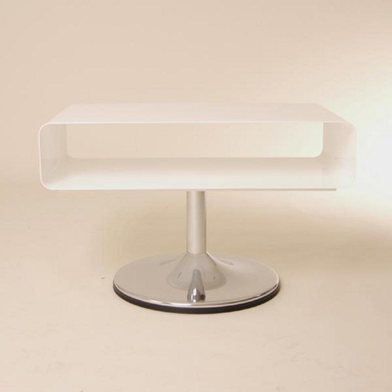 Lounge design tv tisch metall fernseh 70er style retro for Design tisch 70er