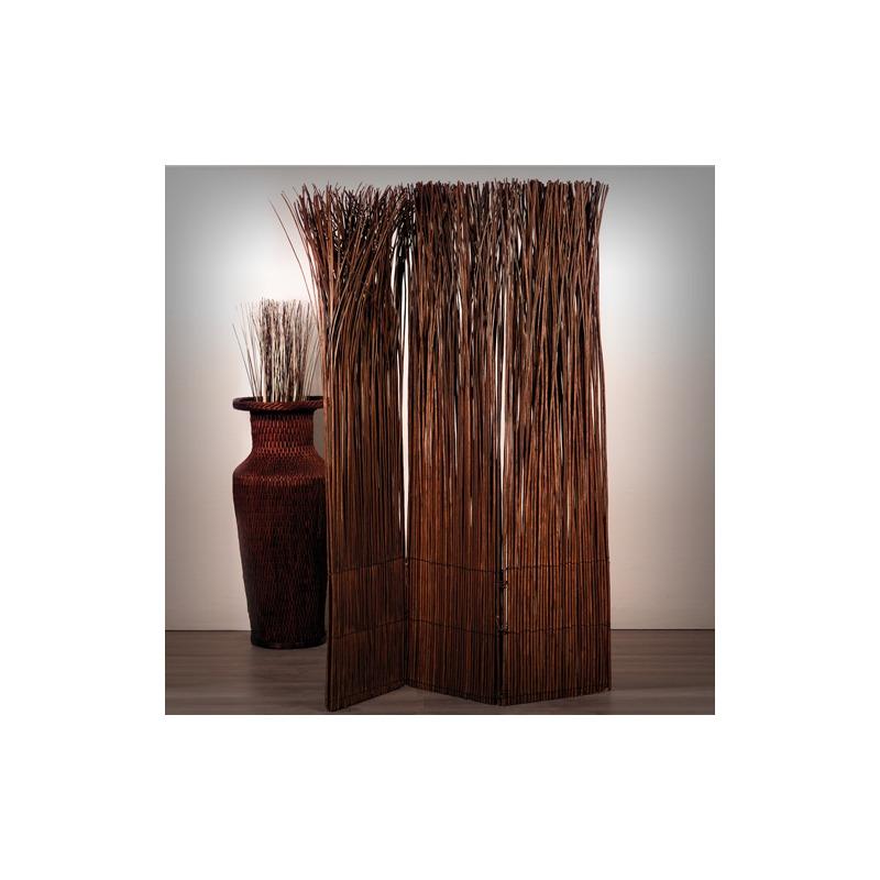 design raumteiler nature paravent brauner weidenholz. Black Bedroom Furniture Sets. Home Design Ideas