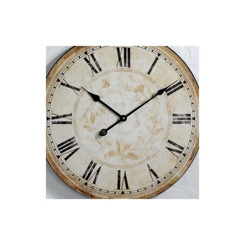 BIG DESIGN IRON WALL CLOCK 59 kitchen watch decoration eBay