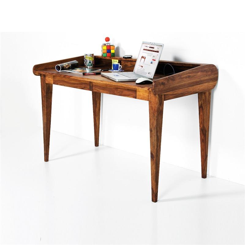 design holz sekret r authentico schreibtisch holztisch ebay. Black Bedroom Furniture Sets. Home Design Ideas