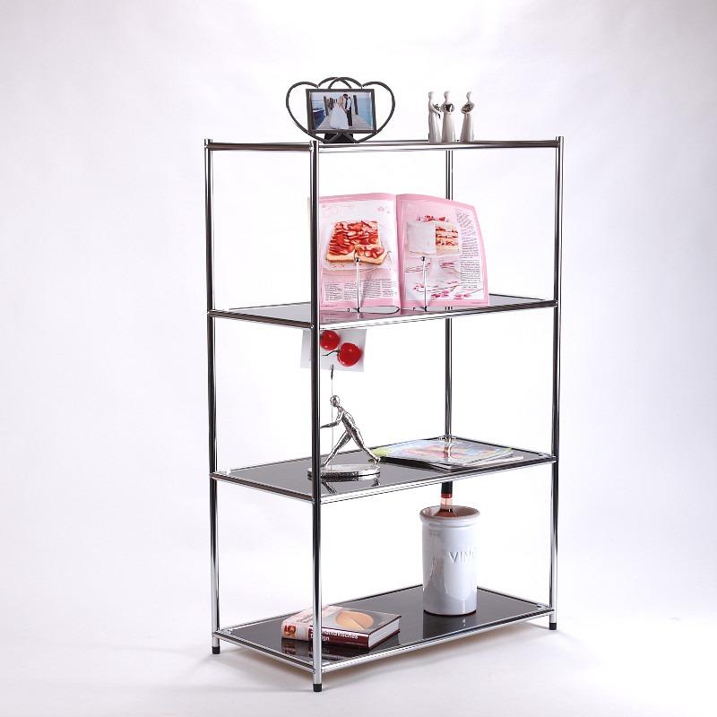 design regal style 120x80cm glas wohnzimmertisch aktenregal b cherregal zebrano ebay. Black Bedroom Furniture Sets. Home Design Ideas