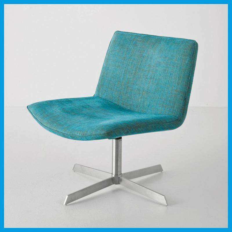 lounge poster sessel drehstuhl polsterstuhl t rkis ebay. Black Bedroom Furniture Sets. Home Design Ideas