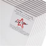 10 ART-STAR LEINWÄNDE | 30x60 cm | auf Keilrahmen, 100% Baumwolle