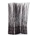 "Room divider ""NATURE"" partition willow folding screen paravent brown"