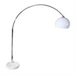 HUGE BIG BOW RETRO DESIGN ARC LAMP floorlamp light white