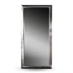 "Großer Wandspiegel ""ELEGANZA"" silber 180x85x3,5 cm"