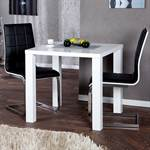 "Kitchen table ""MALMÖ"" 31x31"" couch table side table high gloss white"