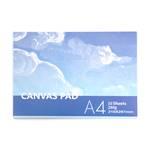 Künstler Leinwand Block | A4, 10 Blatt, 265 gsm | Maltuch