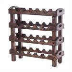 "Wine rack ""RUSTIC"" 