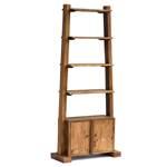 "Wooden shelf ""SAMOA"" | recycled wood, 195x85 cm | bookshelf"