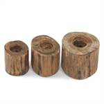 "3Pcs Set candle holder ""CASTLE"" 