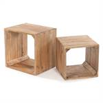 "2 Pcs shelves ""VINTAGE CUBE"" 
