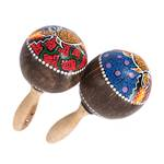 "Rumba rattle set ""ESCARA"" 