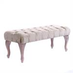 "Upholstered baroque bench ""CHARLOTTE"" 
