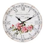 """Nostalgic wall clock """"ROSE"""" 