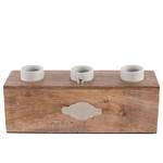 "Tischleuchte ""EDISON 3ER"" | Kare Design 39837 | Holz Tischlampe"