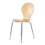 "Stuhl ""BASIC"" | Buchenschichtholz, Metall, 85 cm | Küchenstuhl"