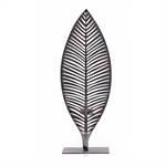 "Deko Leuchter ""PALMERA"" | Metall, 45 cm, silber | Kerzenhalter"