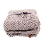 "KNITTED PLAID ""SVEA"" 