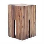 "Wooden side table ""PUENTE"" 