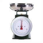 Retro design kitchen scale | green, up to 3 kg | cooking scale