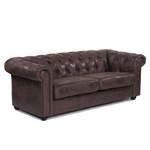 "Sofa  ""CLASSY CHESTERFIELD AFRIKA"" 3er | gepolstert | Dreisitzer"