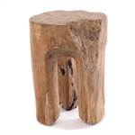 "Tree trunk stool ""LOG"" 