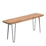 "Solid seating bench ""PLANK"" 