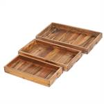 "3 Pcs tray set ""VALET"" 