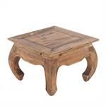 "Opium table ""MAHA"" | 20x20x14"", brown | side table"