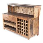 "Bar cabinet ""WASTEWOOD"" 