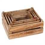 "4 Pcs Decoration boxes ""YARD"" 