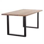 Massivholz Esstisch BROADWAY | geölt, U-Profil, 160x90cm | Küchentisch