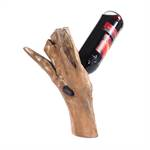 "Wine bottle holder ""TEAK 35"" 