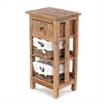 "Side table ""RATTAN 70"" 