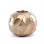 "Teelichthalter ""PLANET"" | Metall, 11x9 cm, gold | Kerzenhalter"