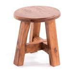 "Stool ""BERNE"" | round, 23,5x20,5cm (HxW), recycled wood | decoration"