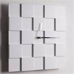 "Design wall clock ""3D PLATES"" 