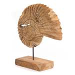 "Wooden sculpture ""SEA SHELL 45"" 