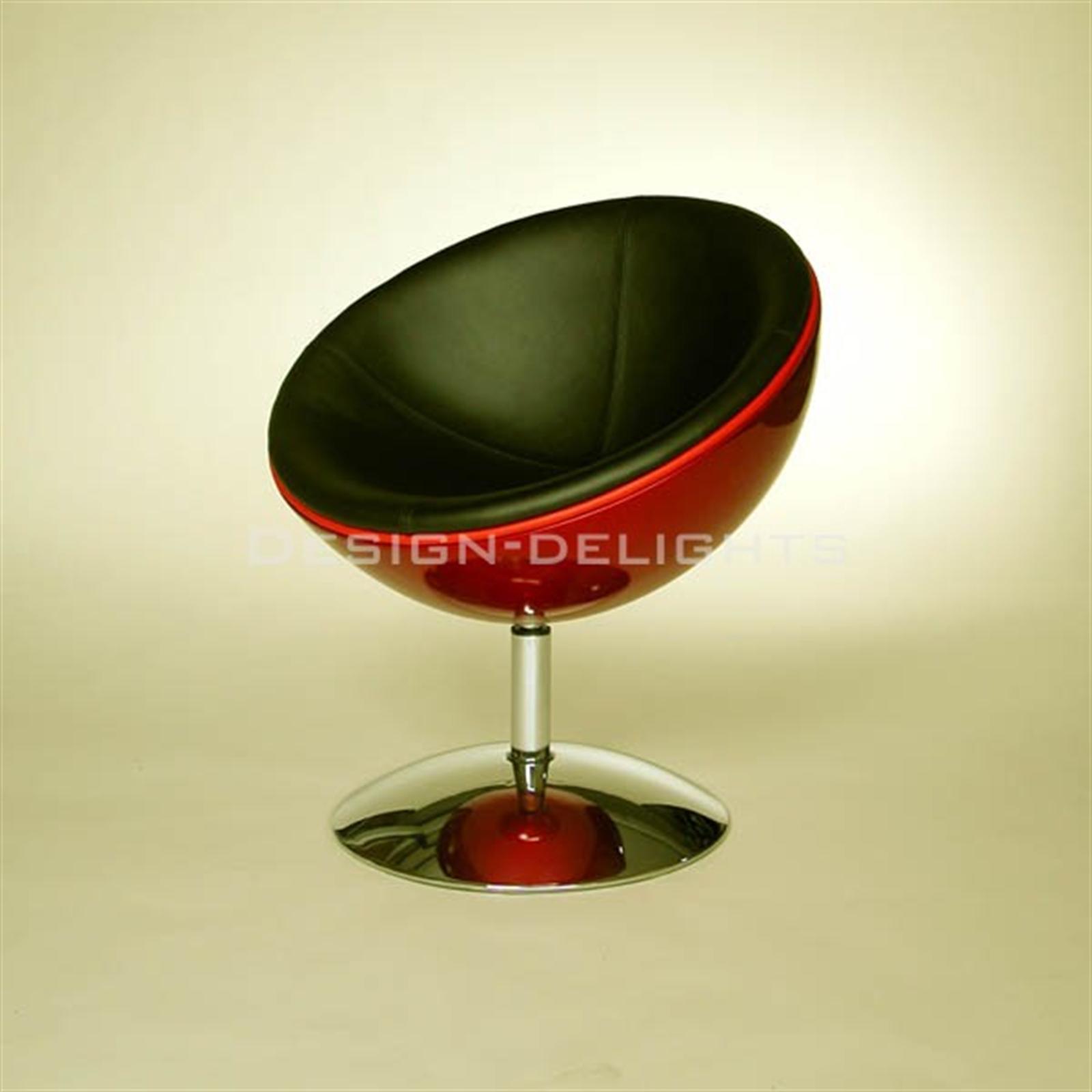 retro schalen sessel 70er design stuhl lounge m bel c13. Black Bedroom Furniture Sets. Home Design Ideas