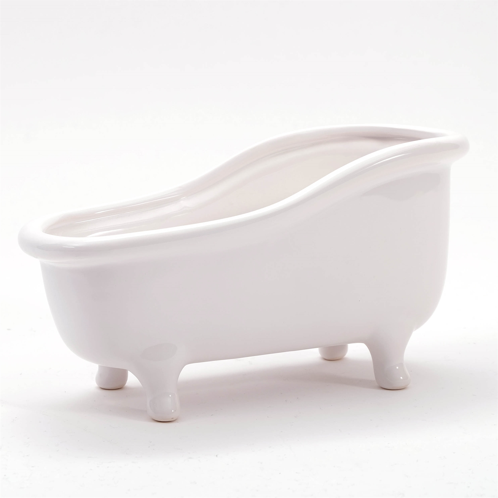 home decor bath tub white ceramic soap dish fruit bowl plant flower pot ebay