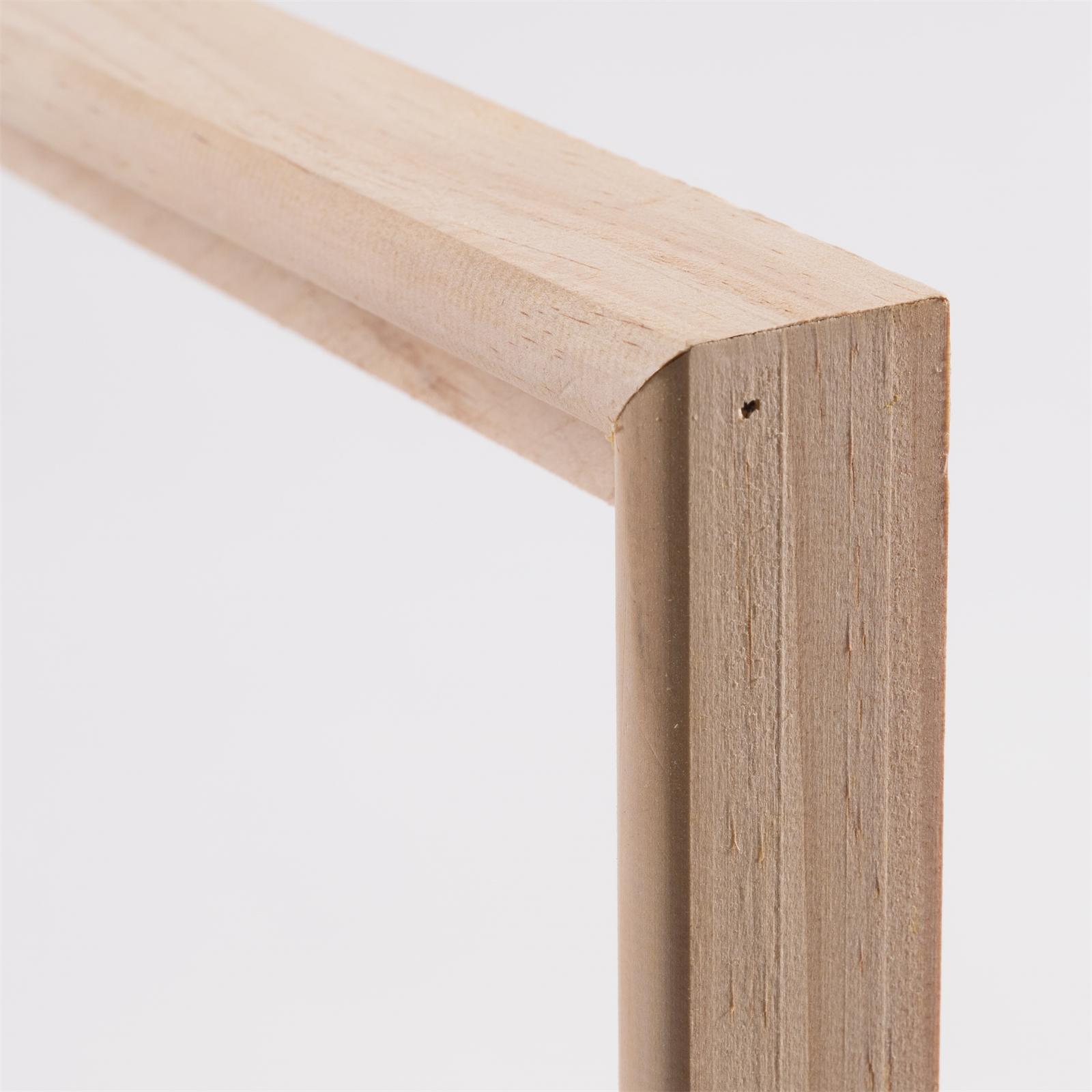 2 Wood Tray Shadow Gap Frames For Blank Stretched Artist