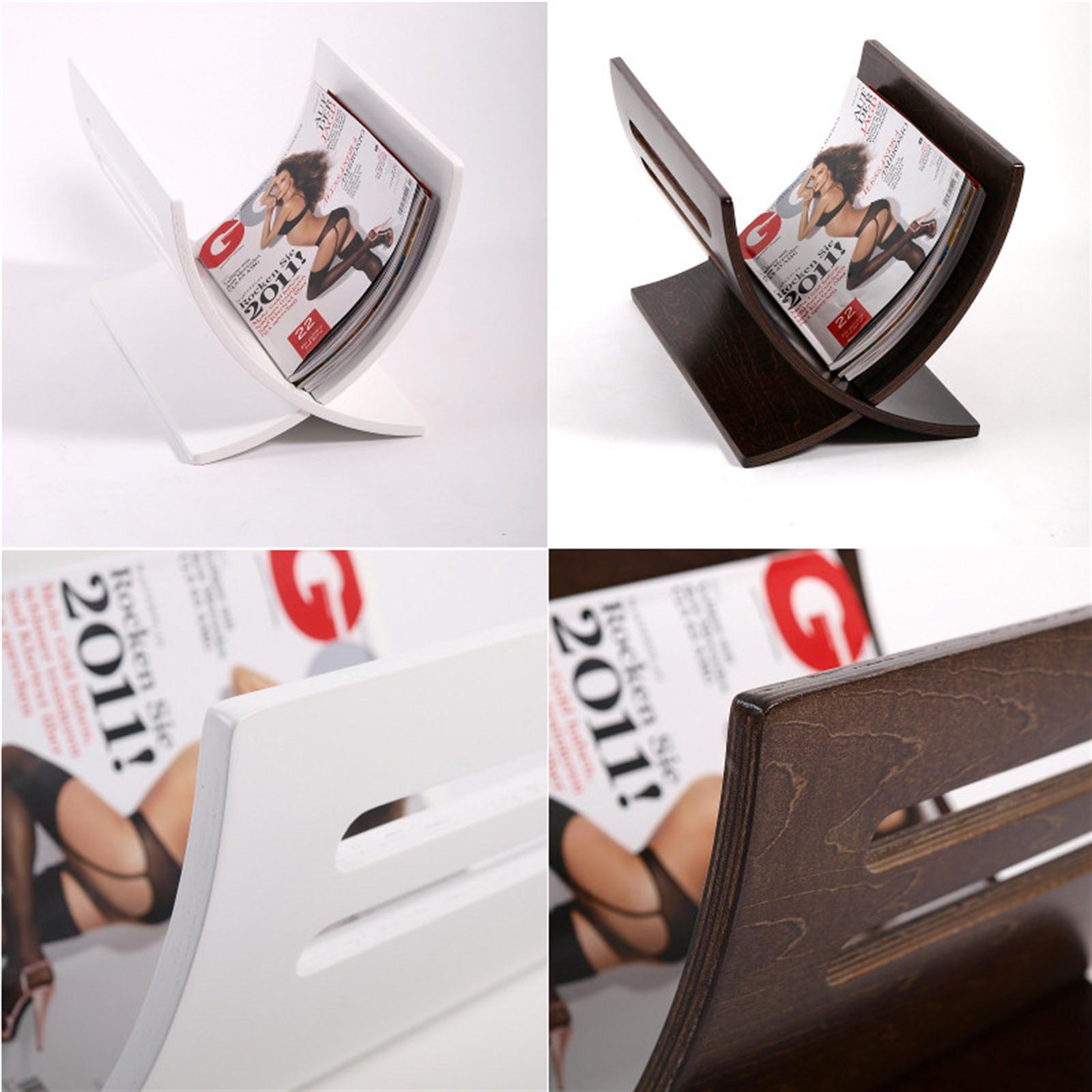 design zeitungsst nder news wenge holz zeitungskorb. Black Bedroom Furniture Sets. Home Design Ideas