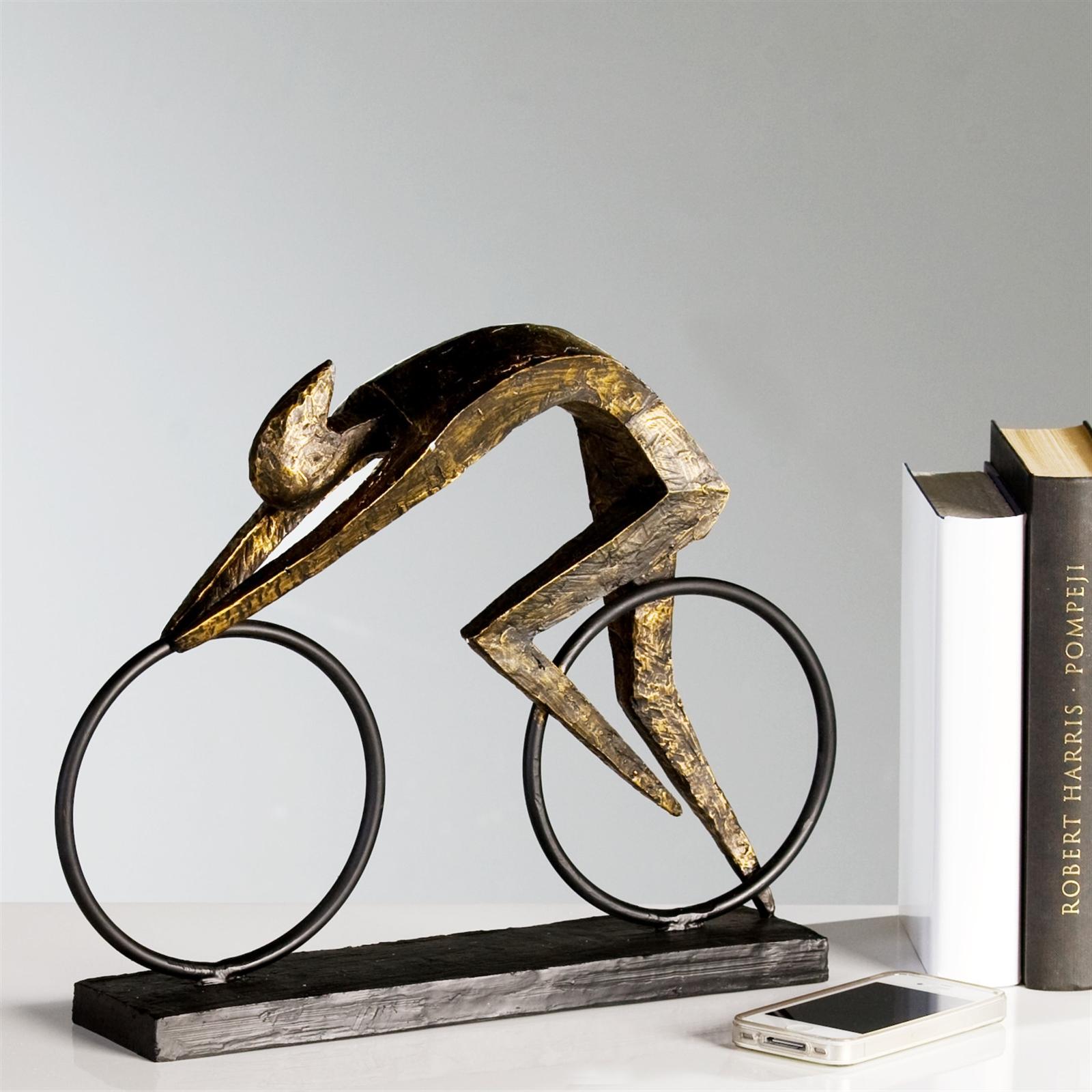 design skulptur racer rennradfahrer radfahrer. Black Bedroom Furniture Sets. Home Design Ideas