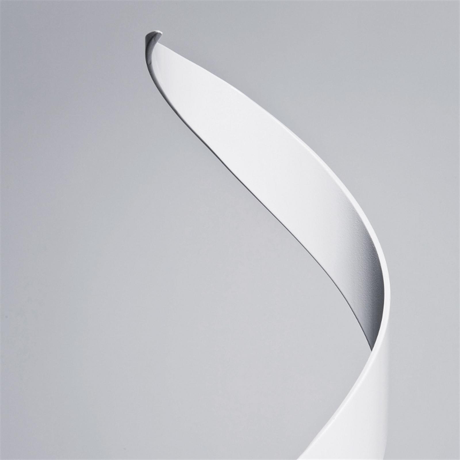 lounge design stehlampe helix stehleuchte lampe weiss ebay. Black Bedroom Furniture Sets. Home Design Ideas