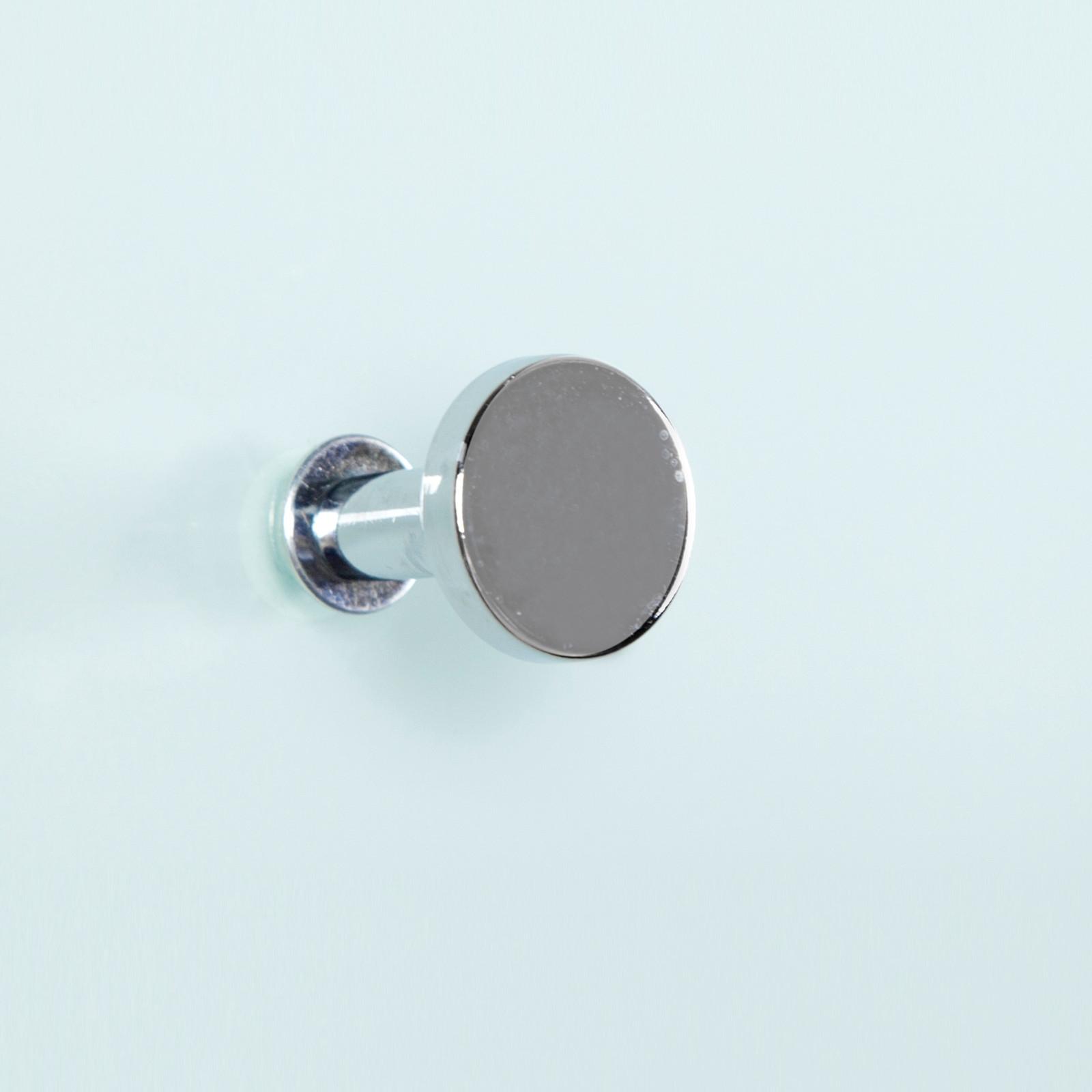 edle design wandgardeobe azzaretti glas chrom wandhaken garderobe modern ebay. Black Bedroom Furniture Sets. Home Design Ideas