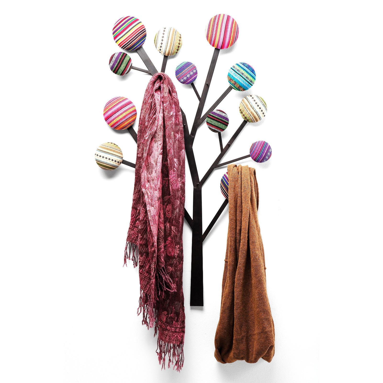 WANDGARDEROBE BUBBLE TREE | Garderobenhaken für Flur, Kinderzimmer ...